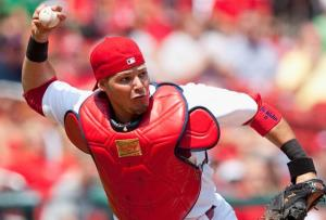 As much as I hate him, I can't deny the fact that St. Louis has baseball's best catcher in Yadier Molina.