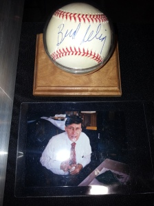 I almost pulled the trigger on this Bud Selig baseball just for the accompanying picture